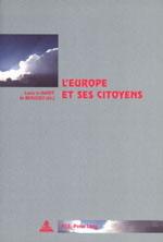 L'EUROPE ET SES CITOYENS