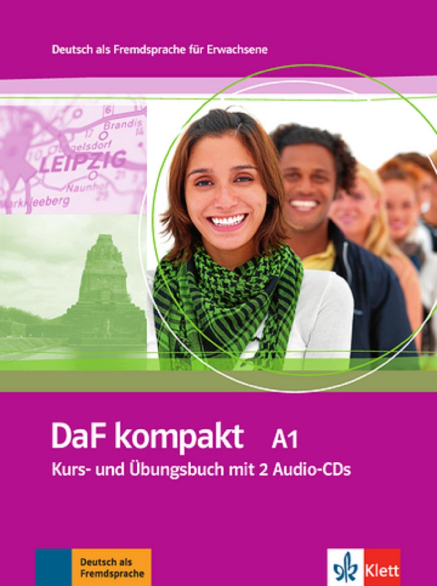 DAF KOMPAKT A1 ELEVE + CAHIER+2 CD