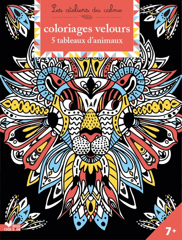 COLORIAGES VELOURS ANIMAUX