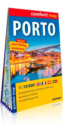 PORTO 1/10.000 (CARTE LAMINEE, FORMAT POCHE)