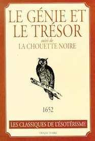 GENIE ET LE TRESOR - CHOUETTE NOIRE