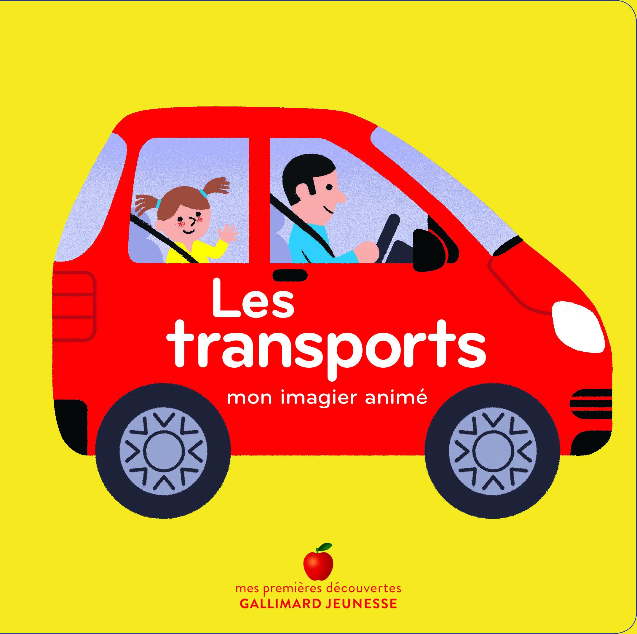 LES TRANSPORTS - MON IMAGIER ANIME