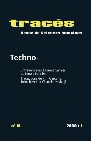 TRACES, N 16/2009. TECHNO-