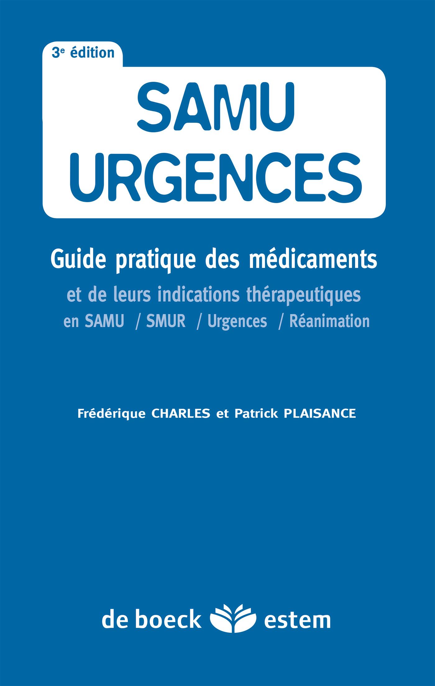 SAMU URGENCES 3ED