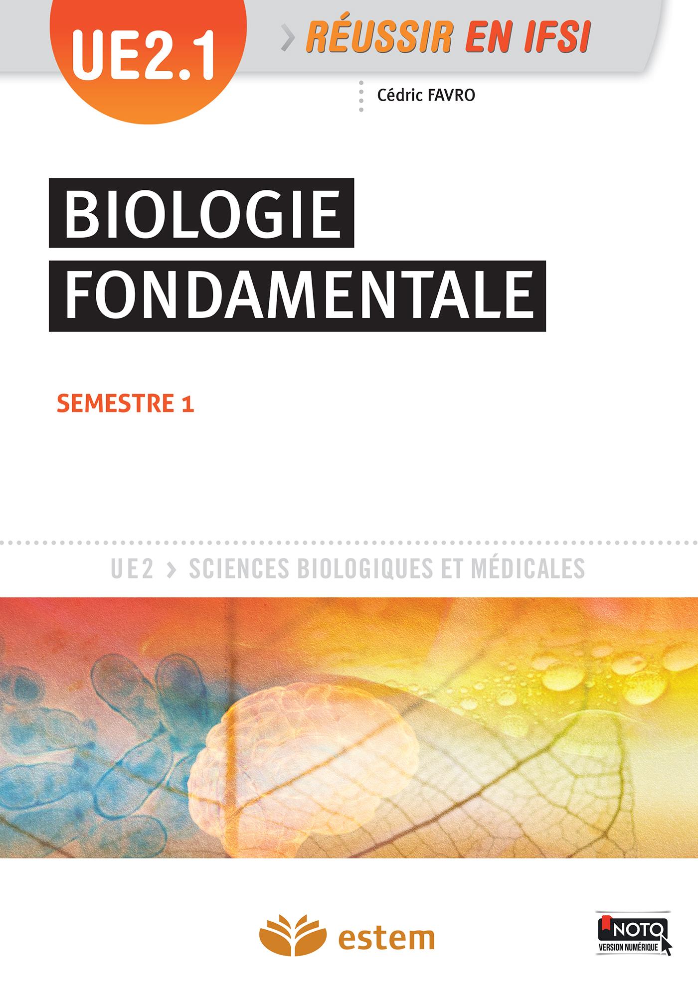 UE 2.1 BIOLOGIE FONDAMENTALE