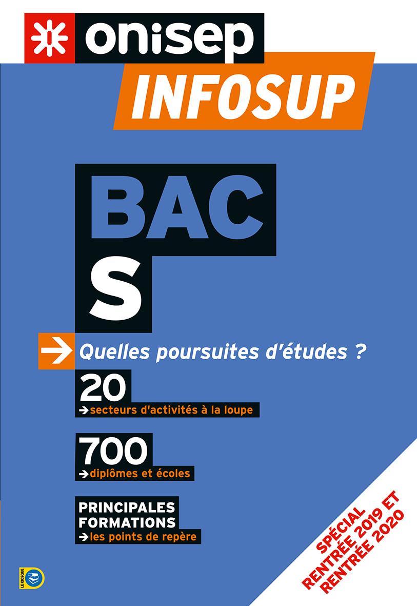 BAC S, QUELLES POURSUITES D'ETUDES ? 2019