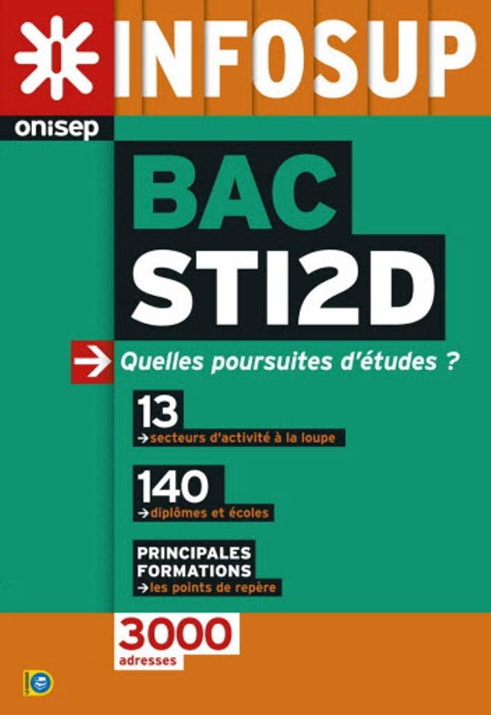 BAC STI2D, QUELLES POURSUITES D'ETUDES ?