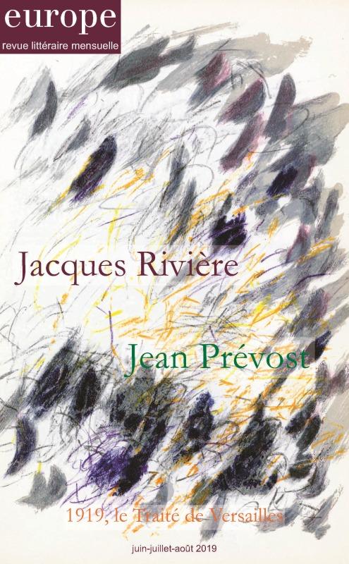 JACQUES RIVIERE JEAN PREVOST - N  1082-1083-1084 JUIN-JUILLET-AOUT 2019