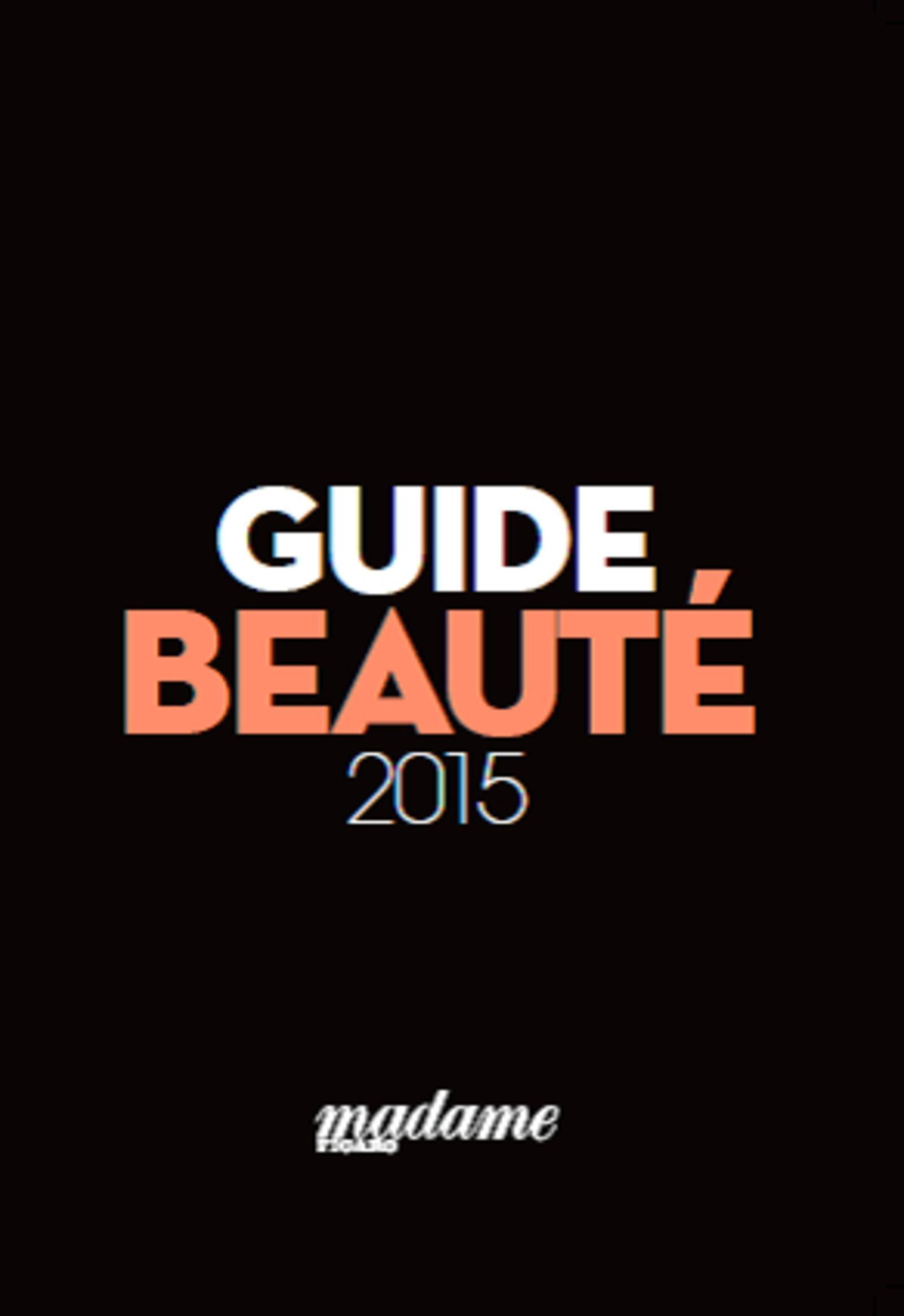 GUIDE BEAUTE 2015 MADAME FIGARO