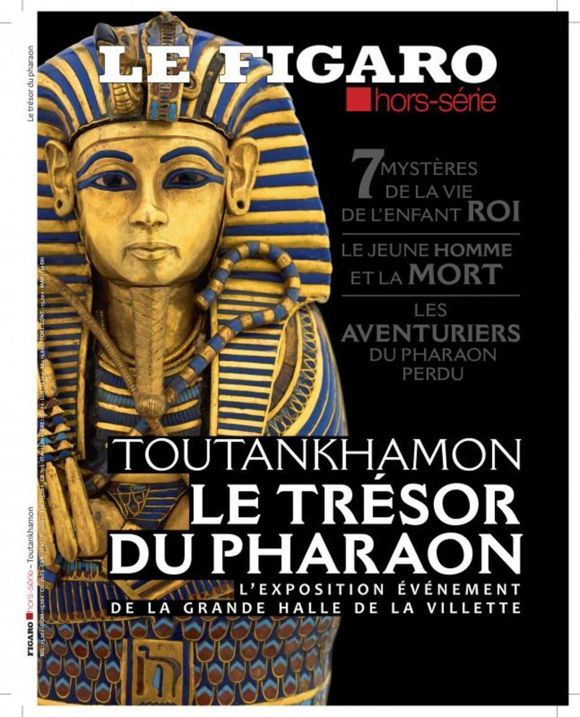 TOUTANKHAMON - LE TRESOR DU PHARAON - 7 MYSTERES DE LA VIE DE L'ENFANT ROI. LE JEUNE HOMME ET LA MOR