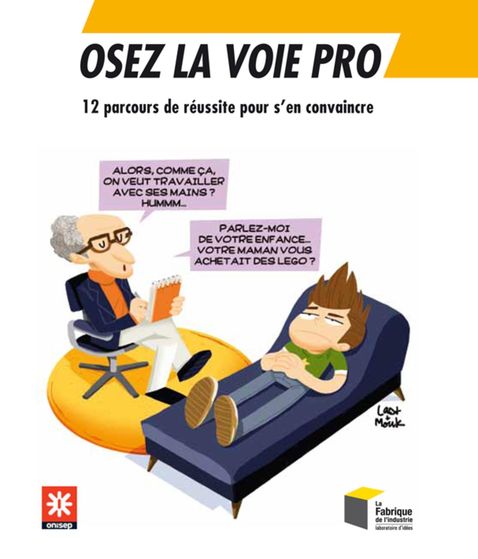 OSEZ LA VOIE PRO - 12 PARCOURS DE REUSSITE POUR S'EN CONVAINCRE.