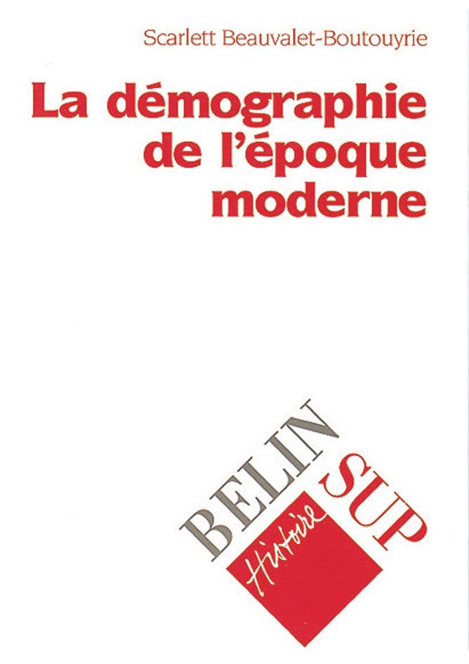 DEMOGRAPHIE EPOQ.MODERNE