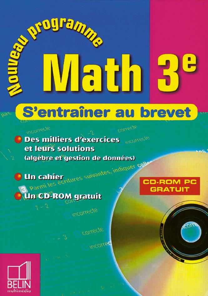 S'ENTRAINER AU BREVET - MATH 3E