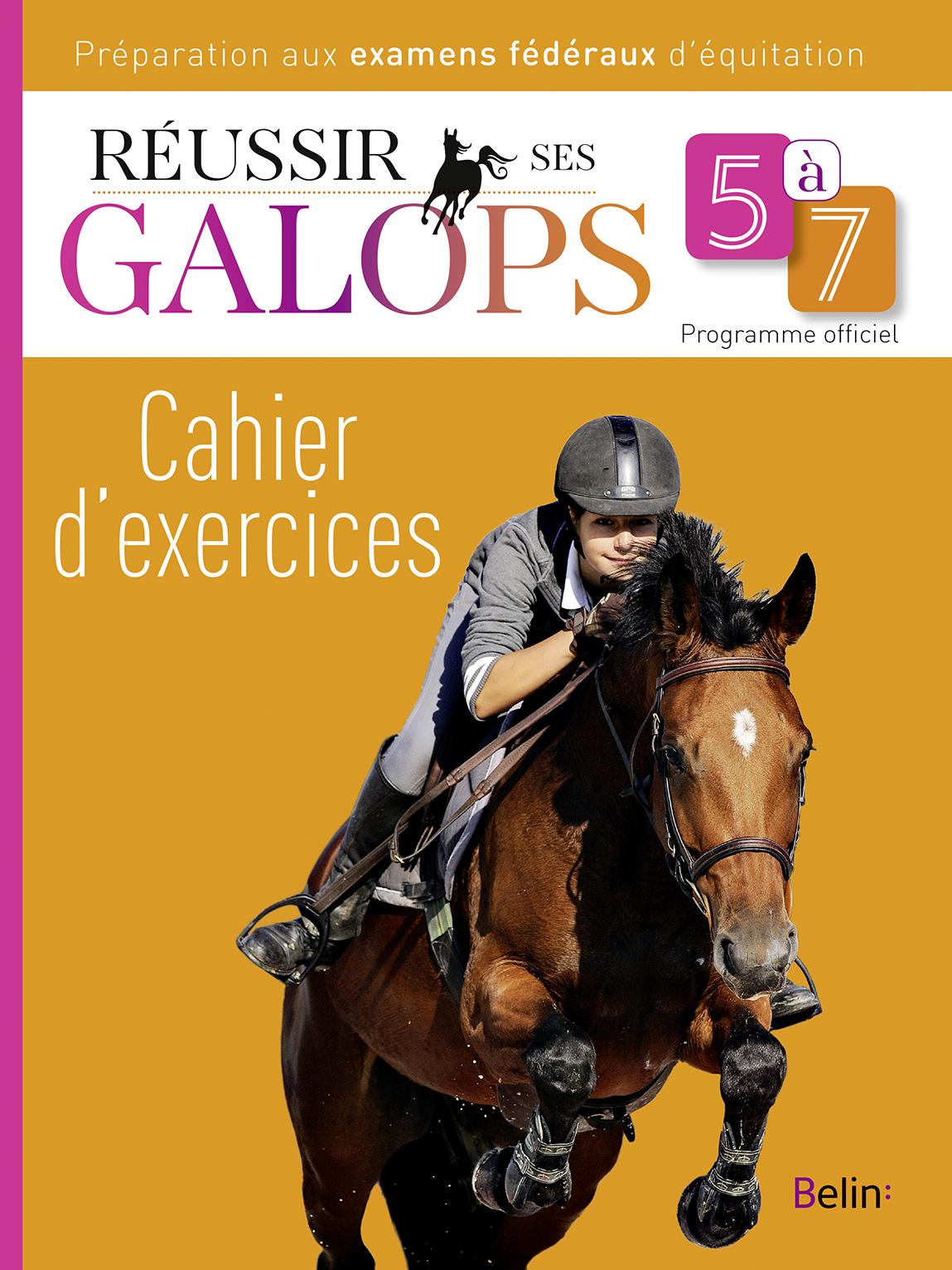 REUSSIR SES GALOPS 5 A 7 (CAHIER D'EXERCICES)