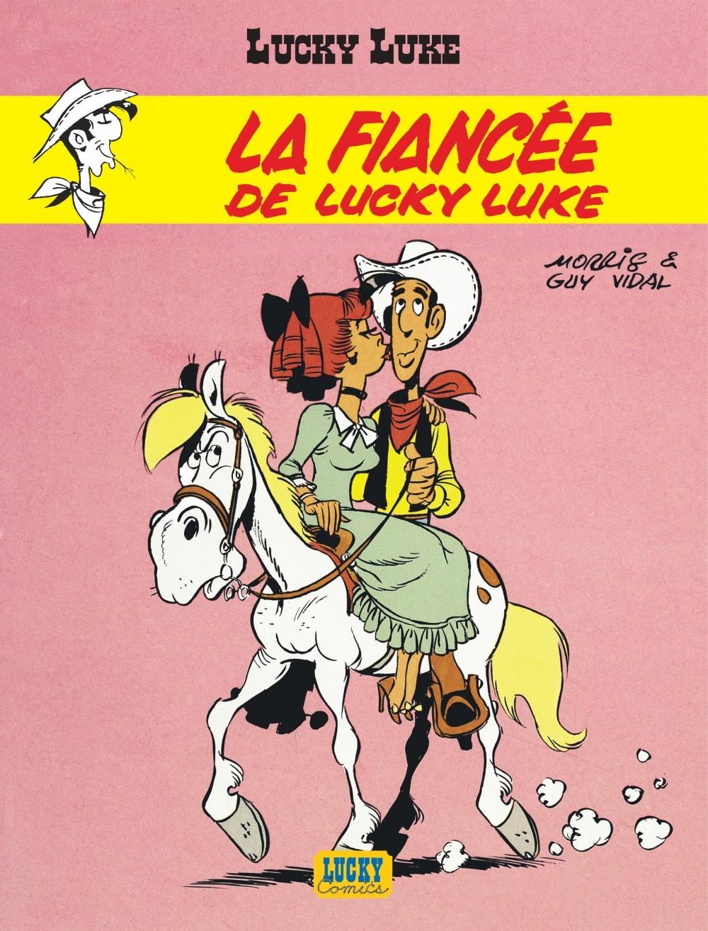 LUCKY LUKE - TOME 24 - FIANCEE DE LUCKY LUKE (LA)