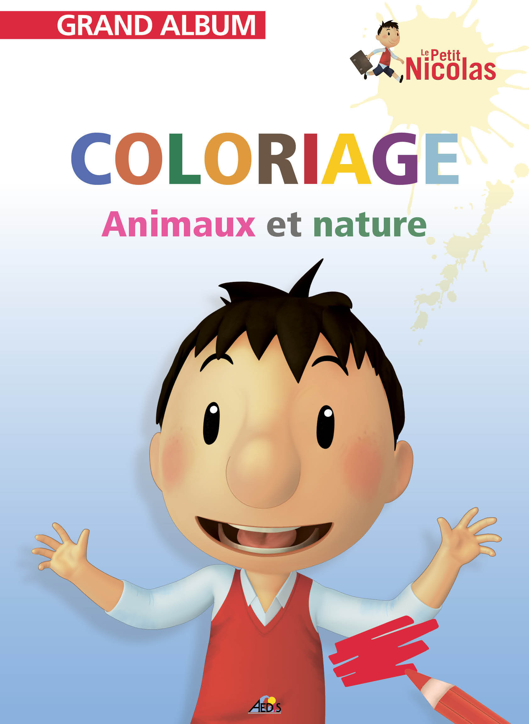 N  40 - LE COLORIAGE ANIMAUX NATURE