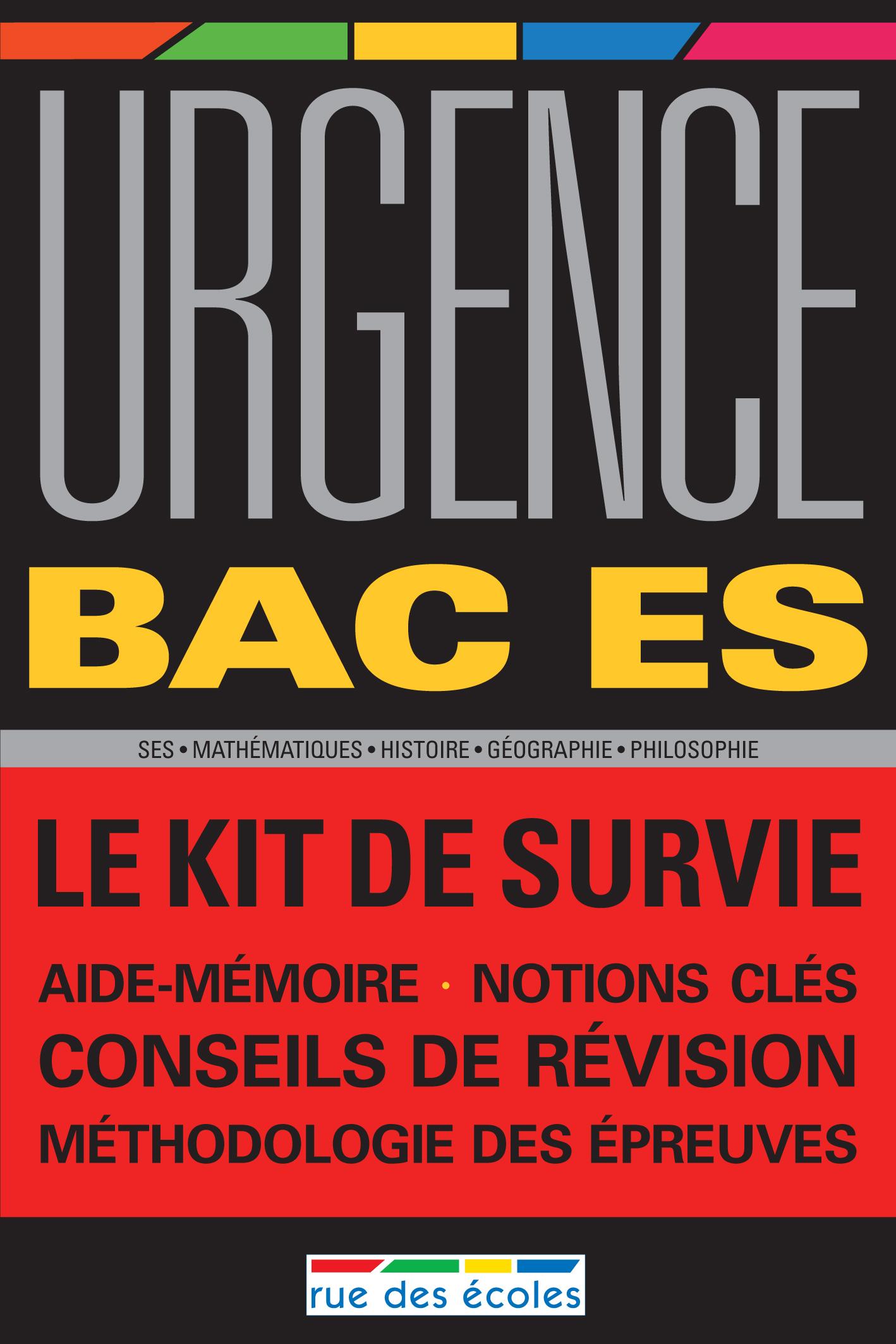 URGENCE 2011 BAC ES