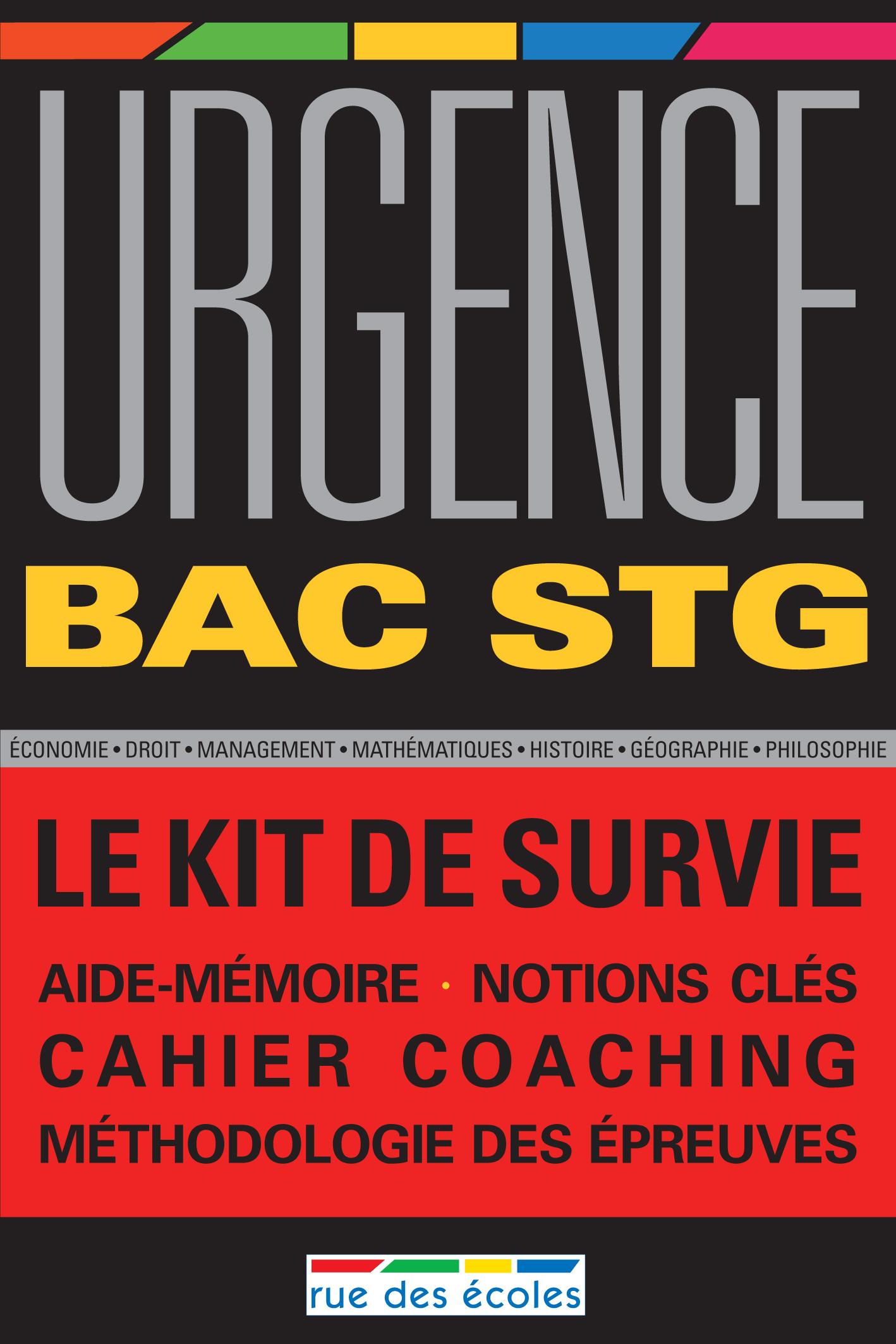URGENCE 2011 BAC STG