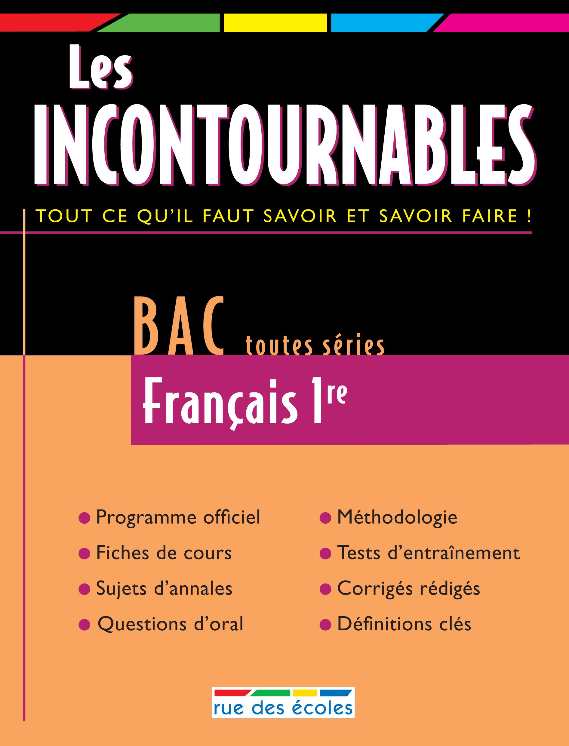 BAC 2009 : FRANCAIS 1ERE TOUTES SERIES