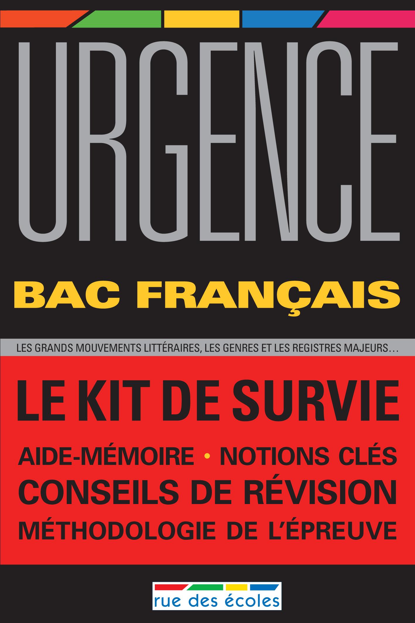 URGENCE 2011 BAC FRANCAIS