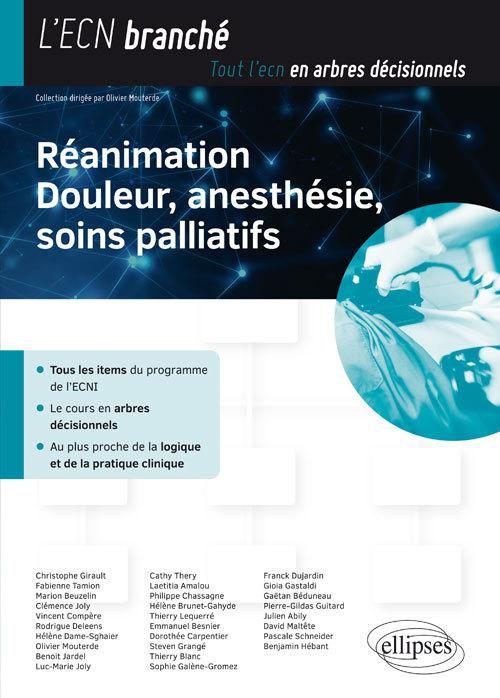 REANIMATION DOULEUR ANESTHESIE SOINS PALLIATIFS