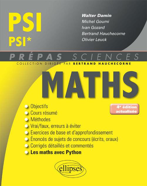 MATHEMATIQUES PSI/PSI* 4EME EDITION ACTUALISEE