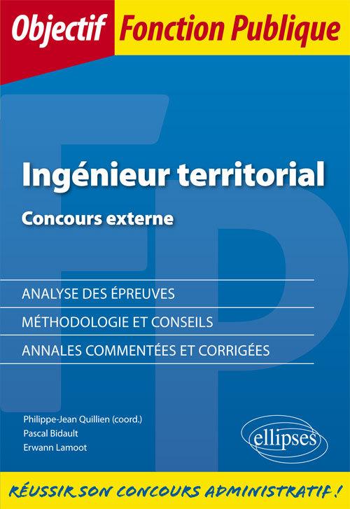 INGENIEUR TERRITORIAL CONCOURS EXTERNE