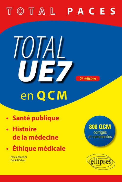 TOTAL UE7 EN QCM 2EME EDITION