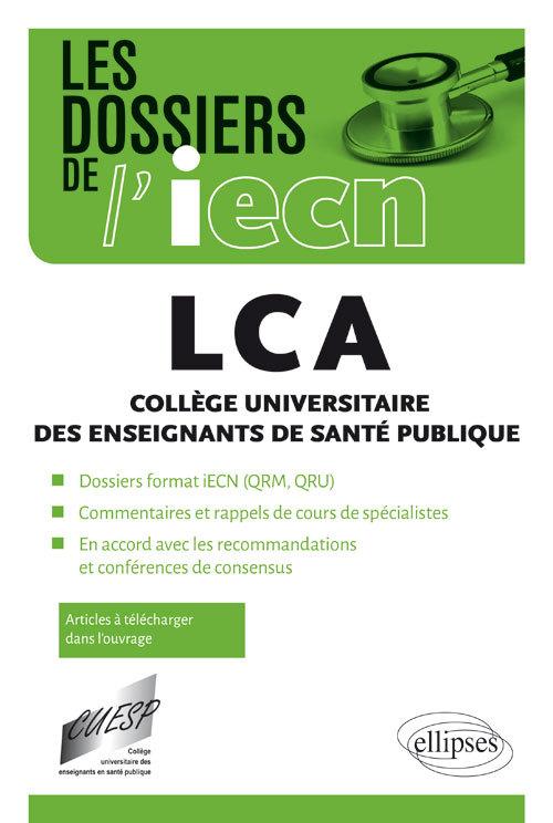 LCA COLLEGE UNIVERSITAIRE DES ENSEIGNEMENTS DE SANTE PUBLIQUE