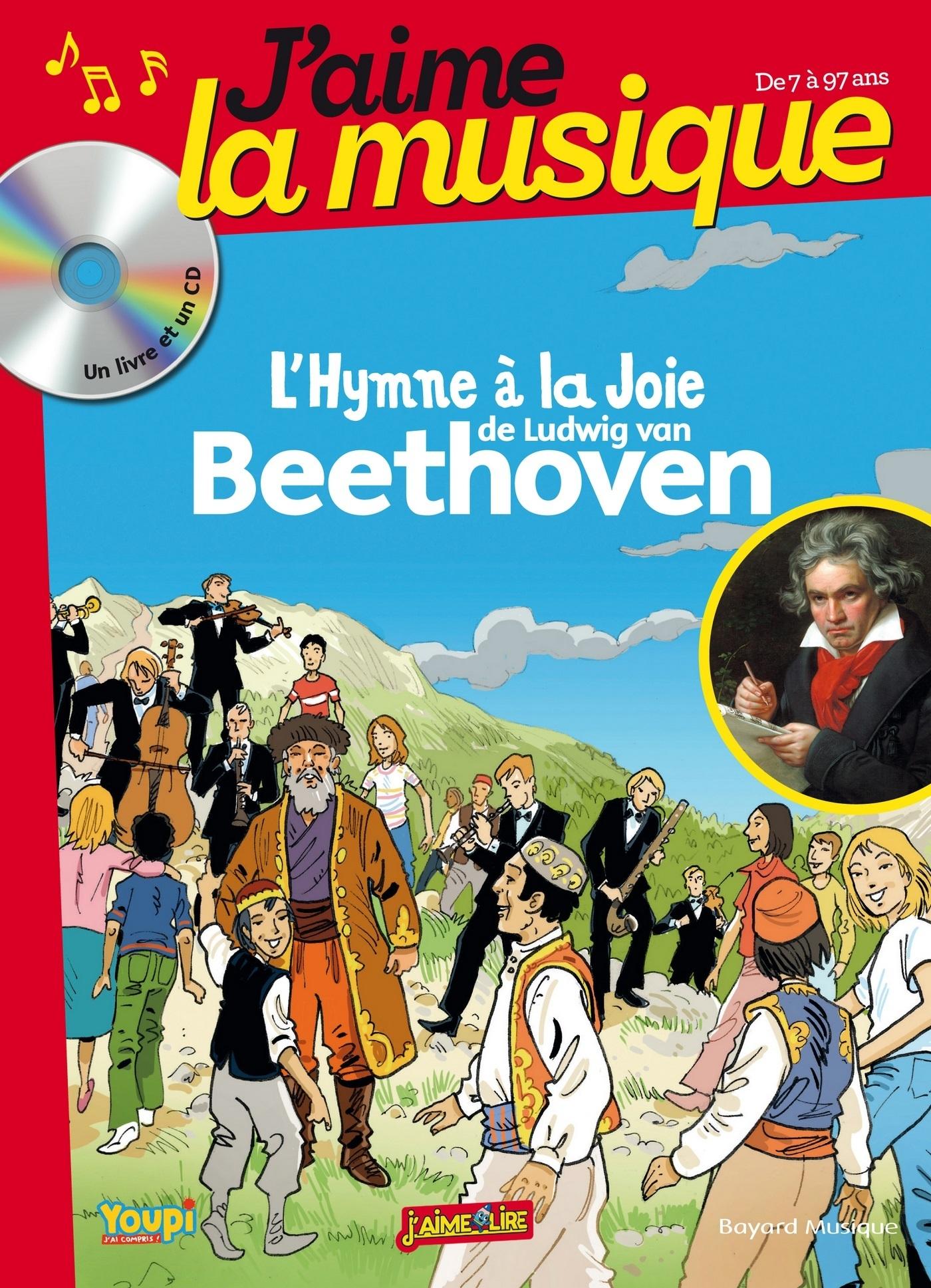 J AIME LA MUSIQUE - BEETHOVEN - LIVRE CD