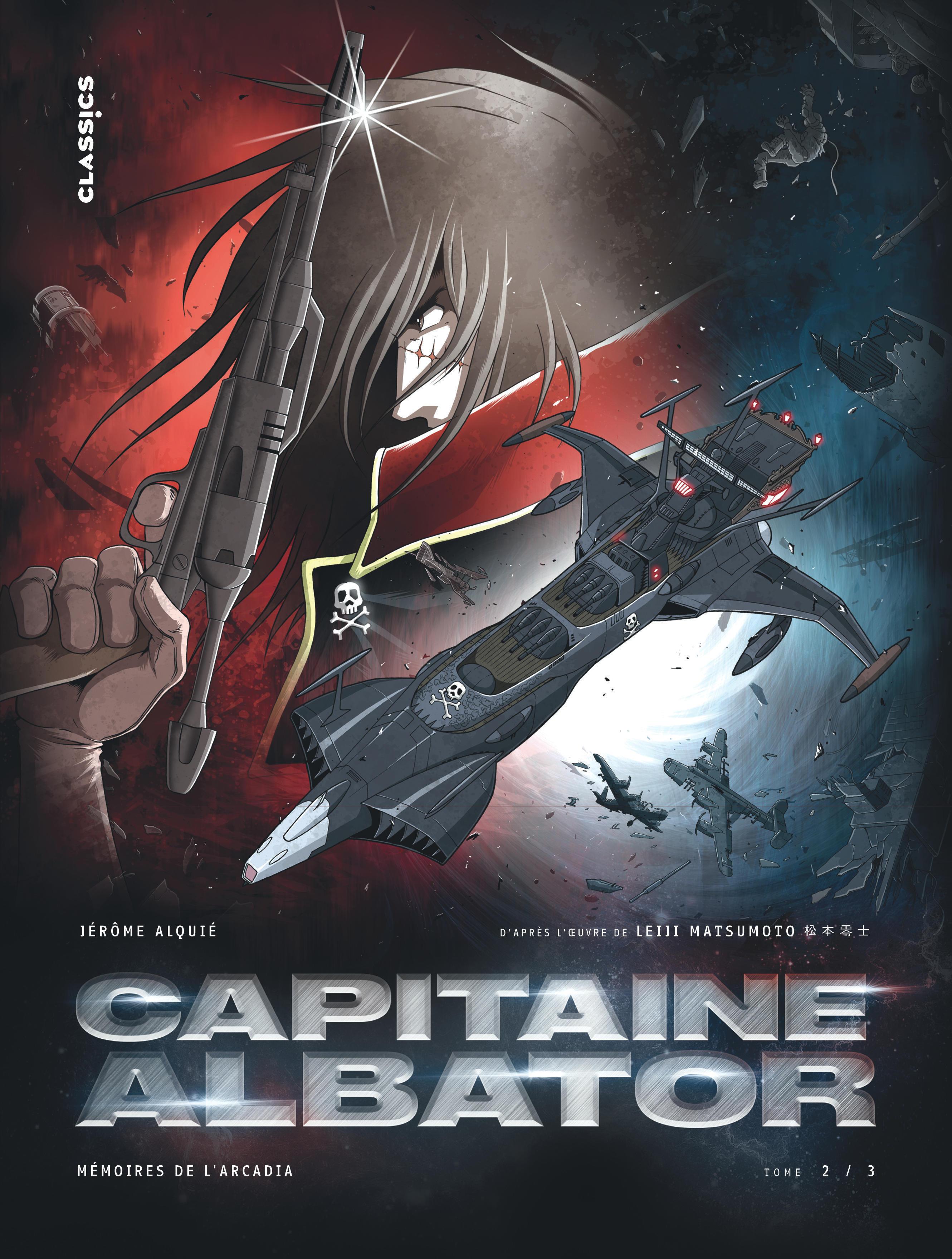 CAPITAINE ALBATOR - MEMOIRES DE L'ARCADIA, TOME 2