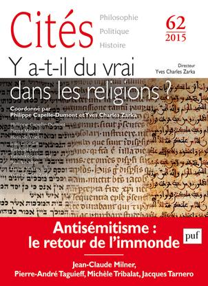 CITES 2015, N  62 - LES RELIGIONS ET LA VERITE
