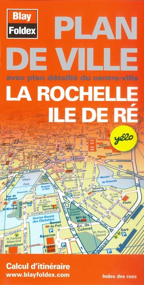 LA ROCHELLE (17) - PLAN DE VILLE - 1/12 000