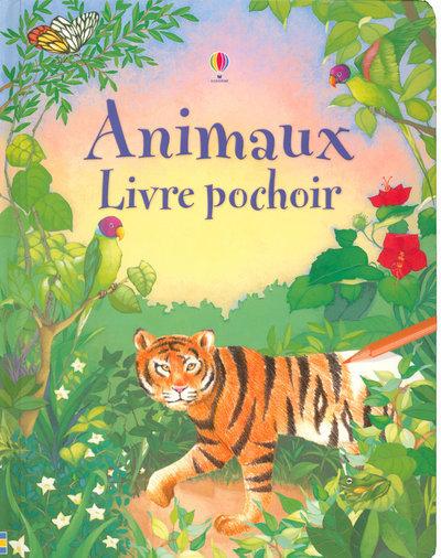 ANIMAUX - LIVRE POCHOIR