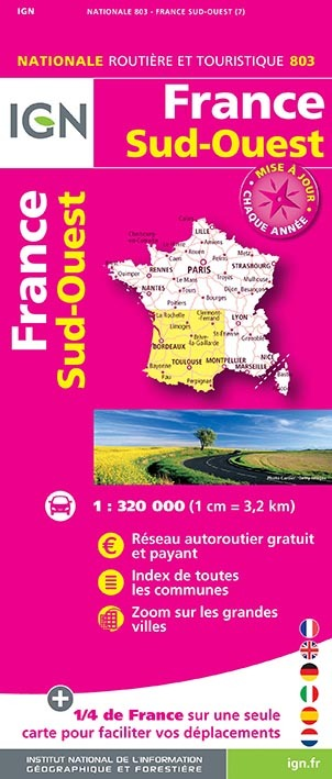 1M803 FRANCE SUD-OUEST 2019