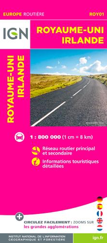 ROY01 ROYAUME-UNI/IRLANDE  1/800.000