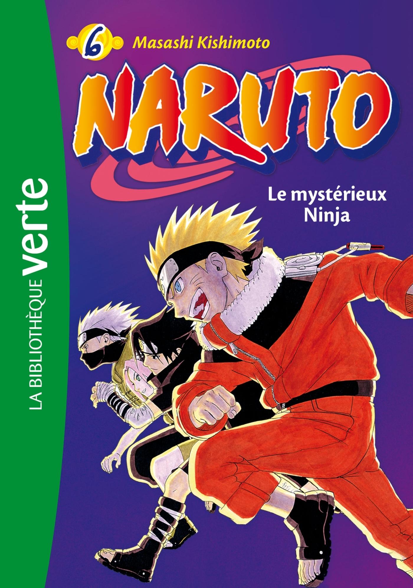 NARUTO - T06 - NARUTO 06 NED - LE MYSTERIEUX NINJA