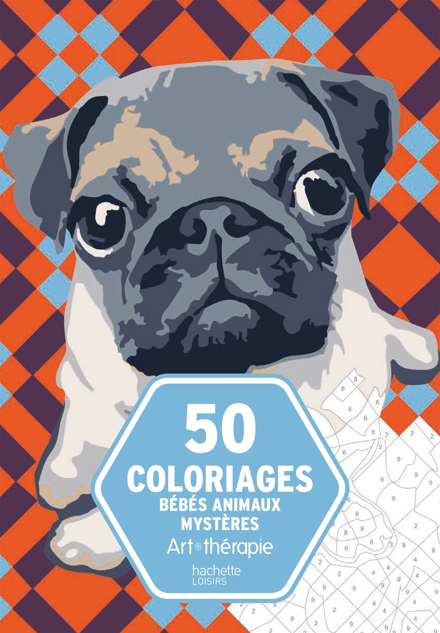 50 COLORIAGES BEBES ANIMAUX MYSTERES