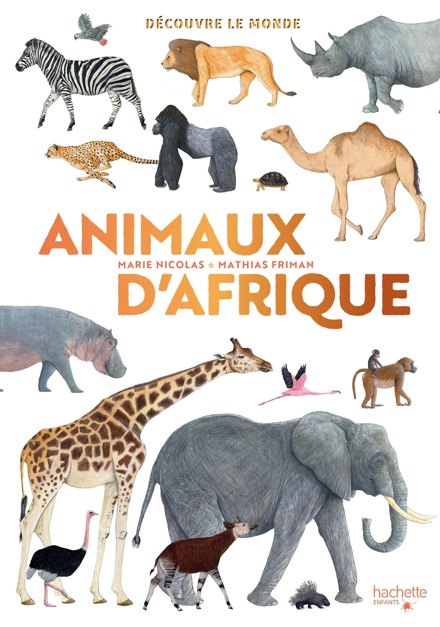 DECOUVRE LE MONDE - ANIMAUX D'AFRIQUE
