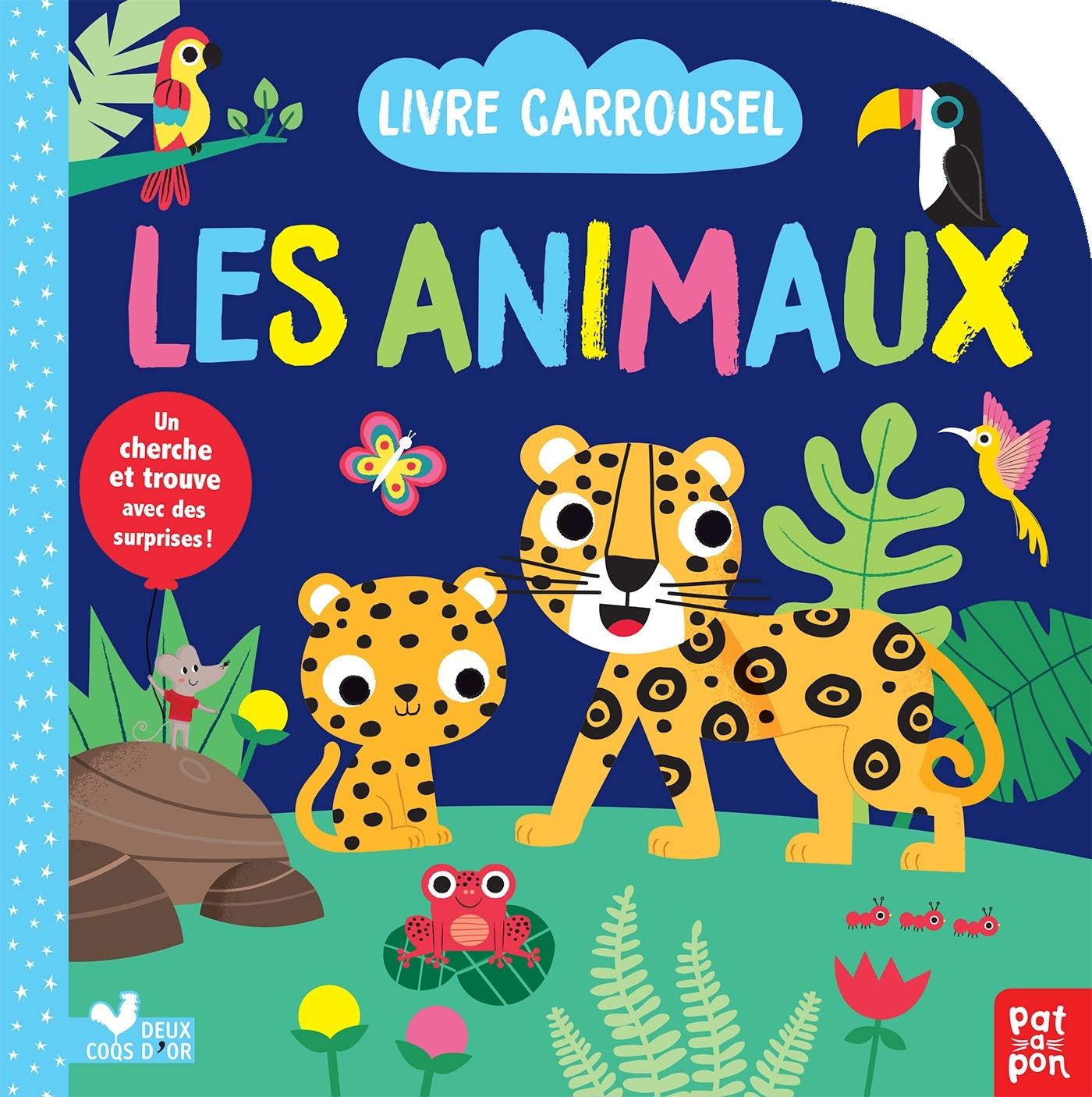 LES ANIMAUX - LIVRE CARROUSEL