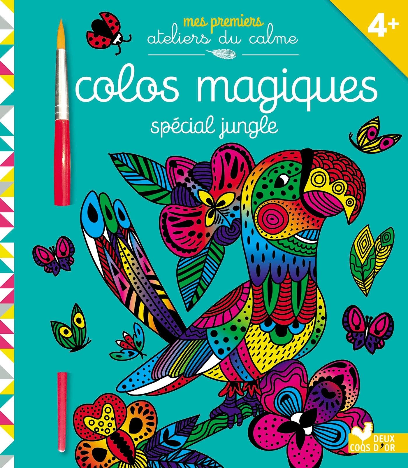 COLOS MAGIQUES JUNGLE - AVEC PINCEAU