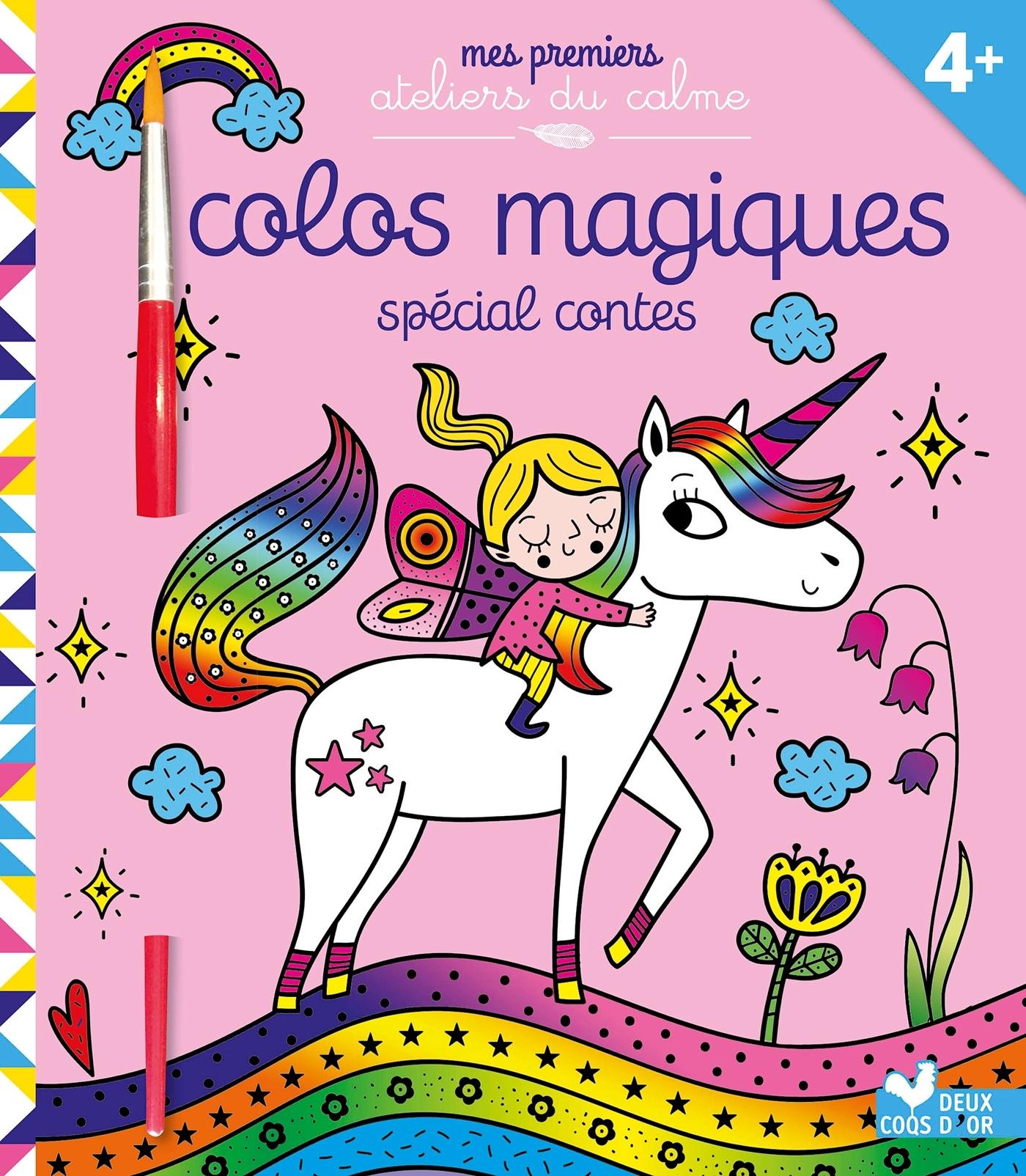 COLOS MAGIQUES MONDES FEERIQUES - AVEC PINCEAU