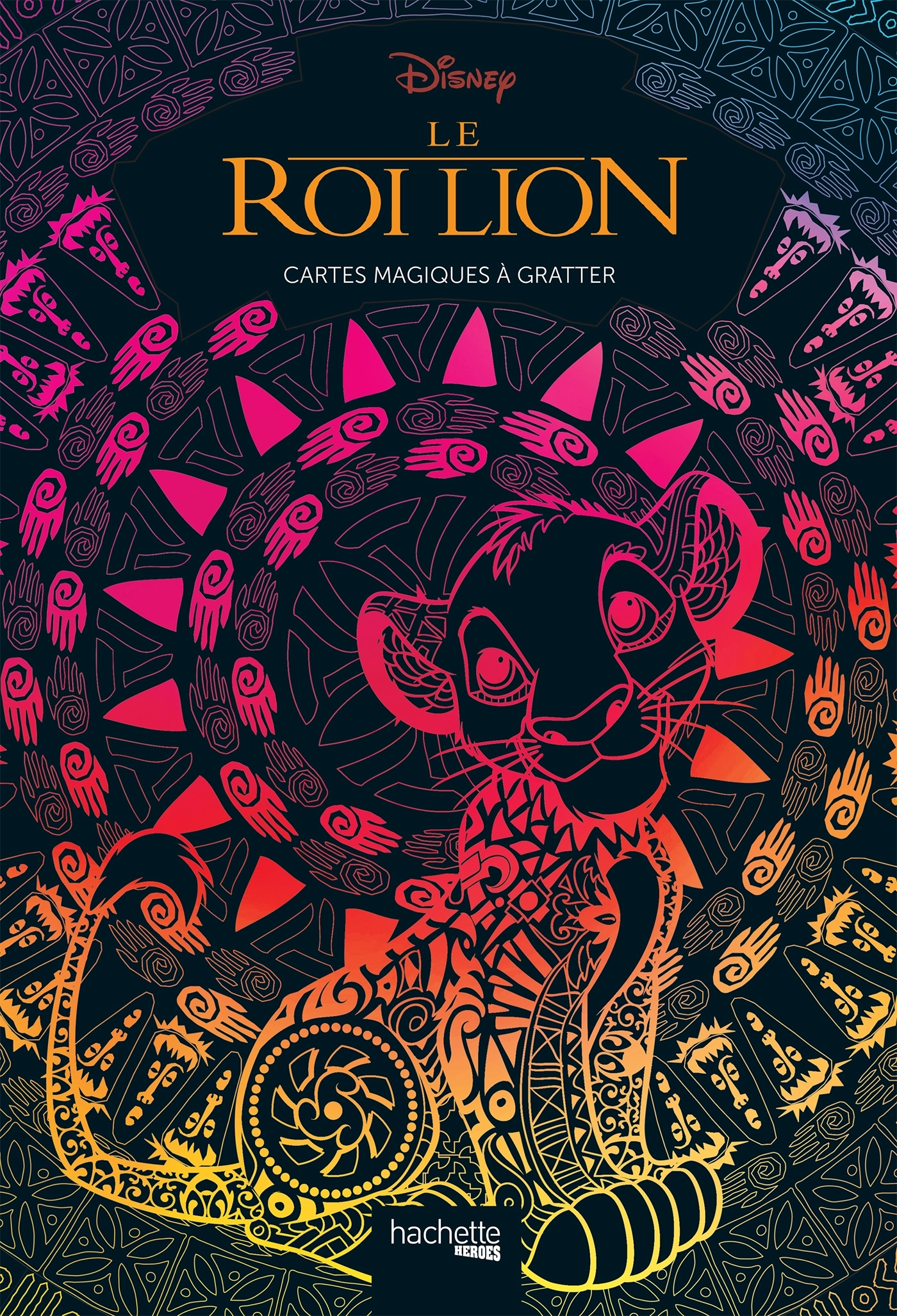 CARTES MAGIQUES A GRATTER DISNEY LE ROI LION
