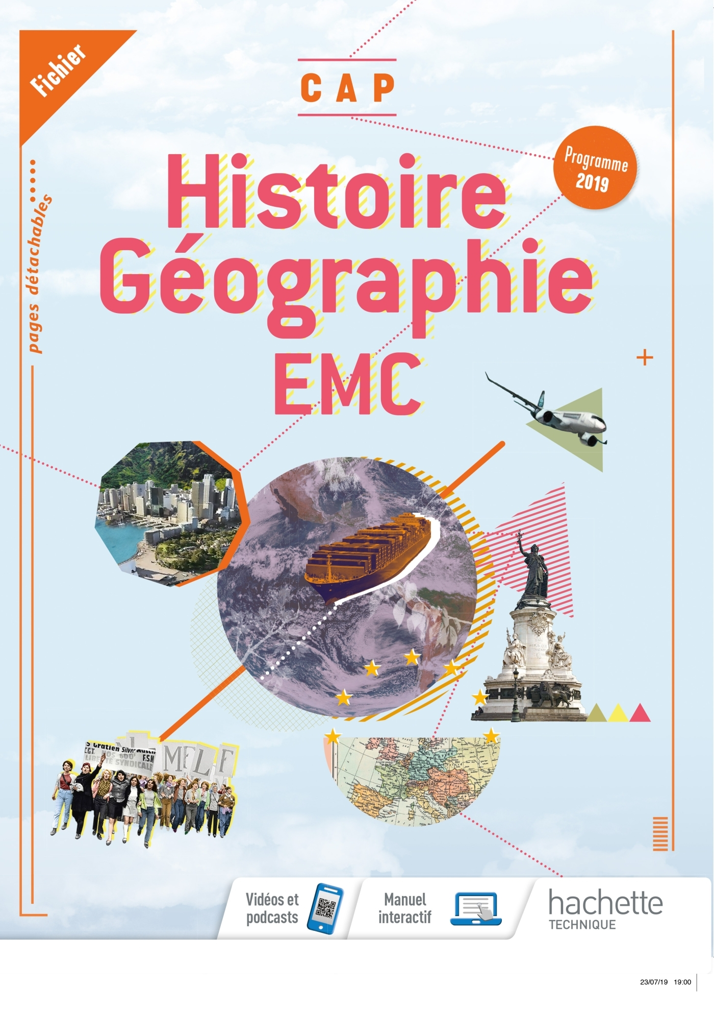 HISTOIRE-GEOGRAPHIE-EMC CAP - CONSOMMABLE ELEVE- ED. 2019