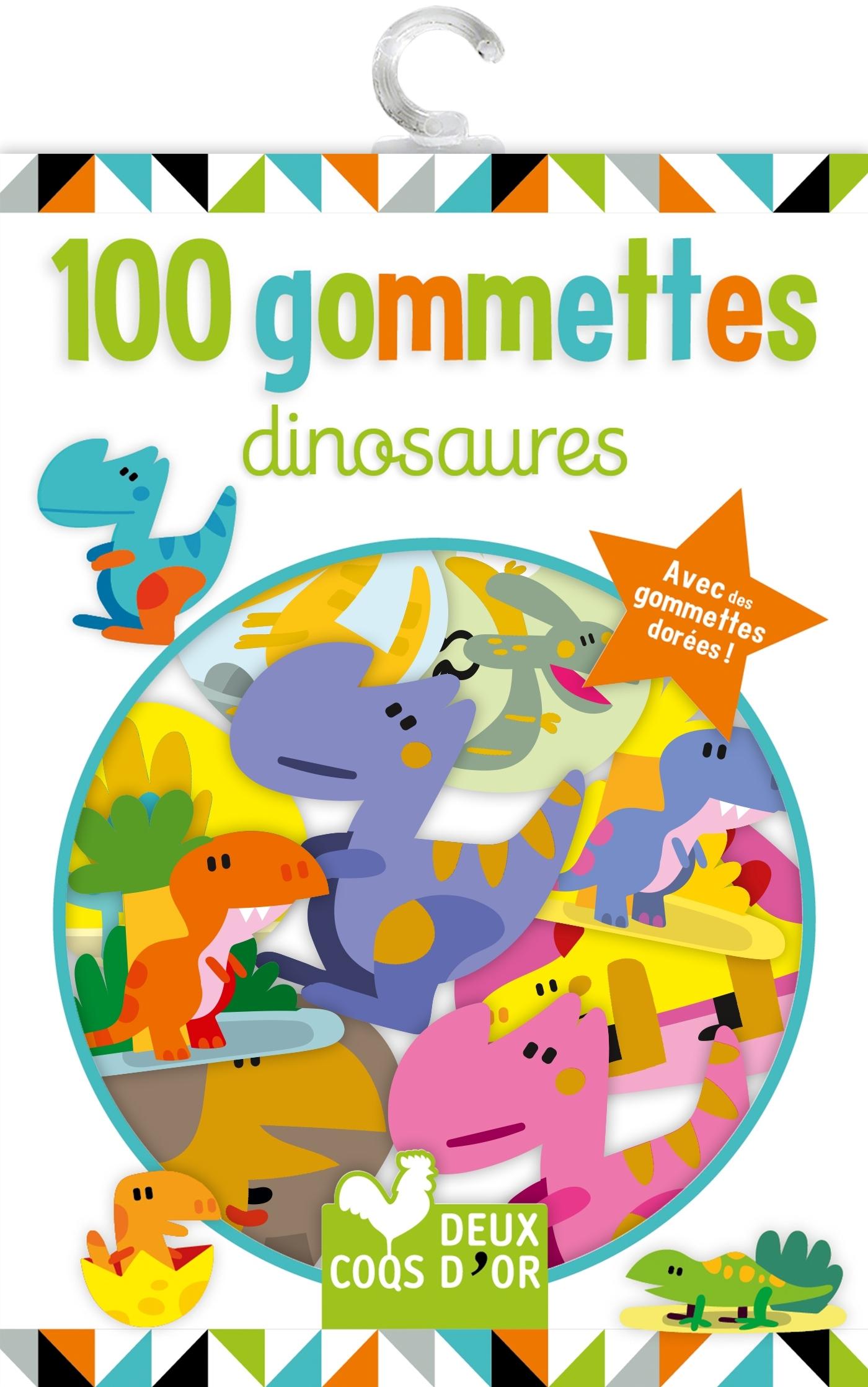 100 GOMMETTES - DINOSAURES