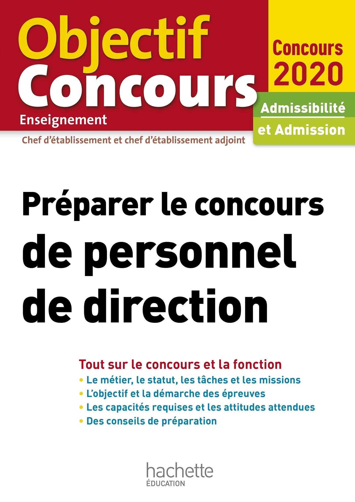 PREPARER LE CONCOURS DE PERSONNEL DE DIRECTION 2020