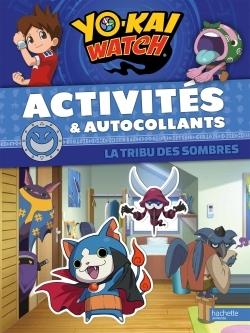 YO-KAI WATCH - ACTIVITES ET AUTOCOLLANTS-SOMBRES