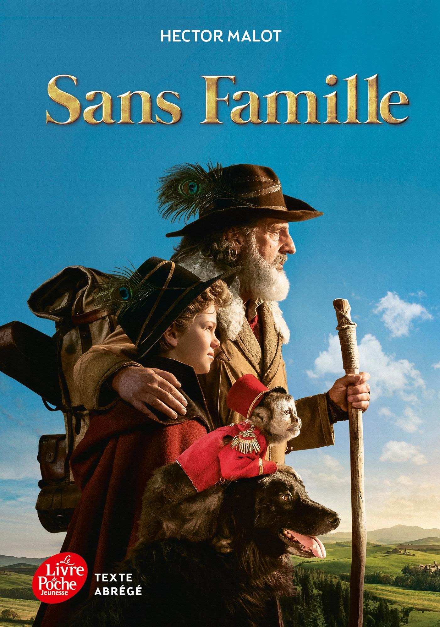 SANS FAMILLE - TEXTE ABREGE 2018