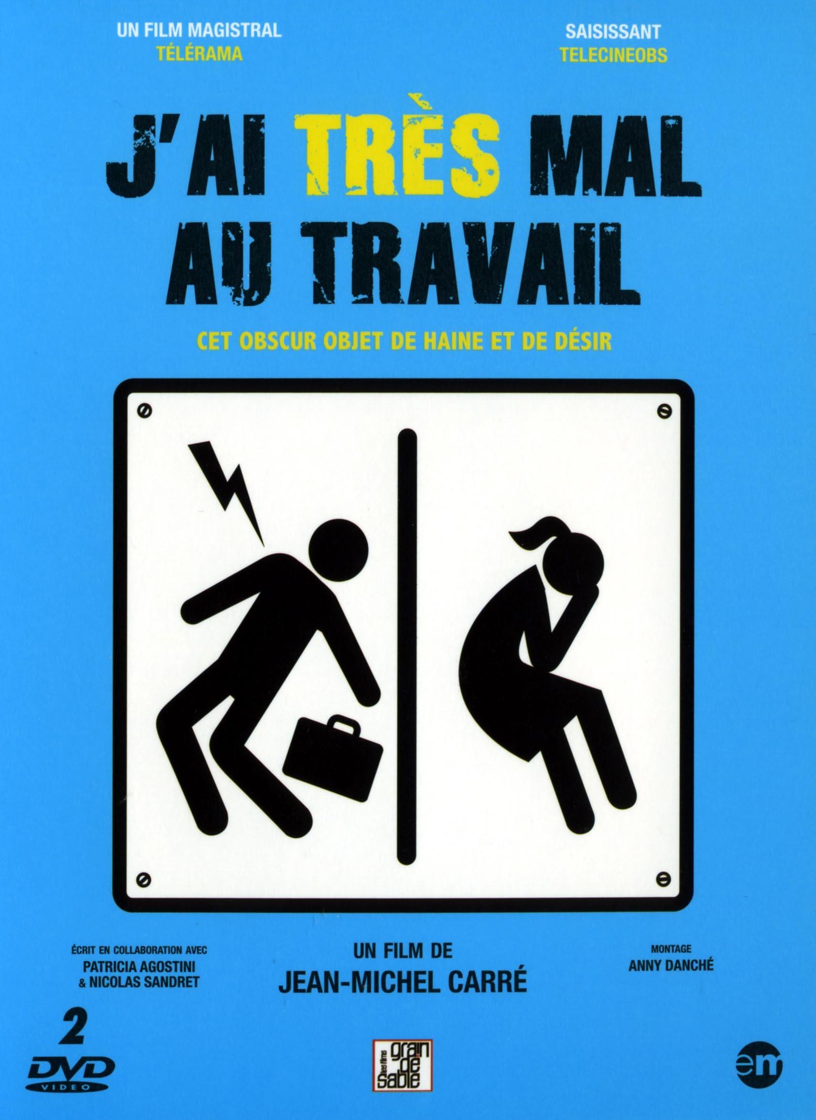 J'AI TRES MAL AU TRAVAIL - DVD