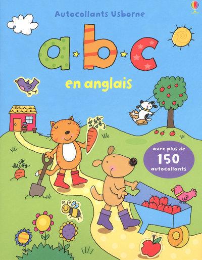 ABC EN ANGLAIS - AUTOCOLLANTS